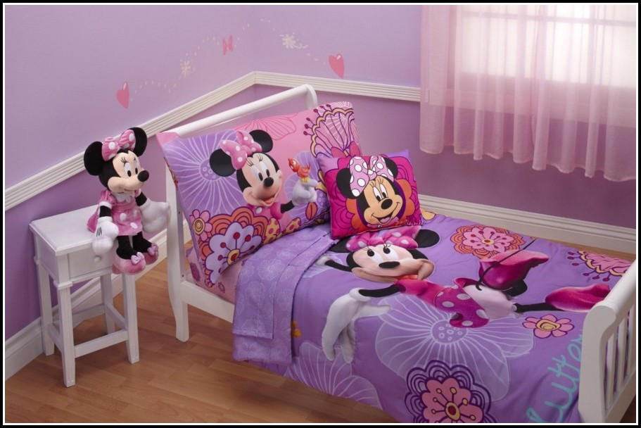 Purple Bed And Curtain Sets