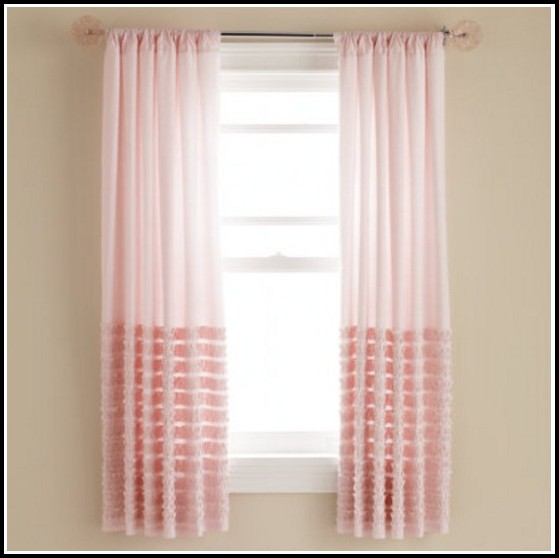 Sage Green And Pink Curtains