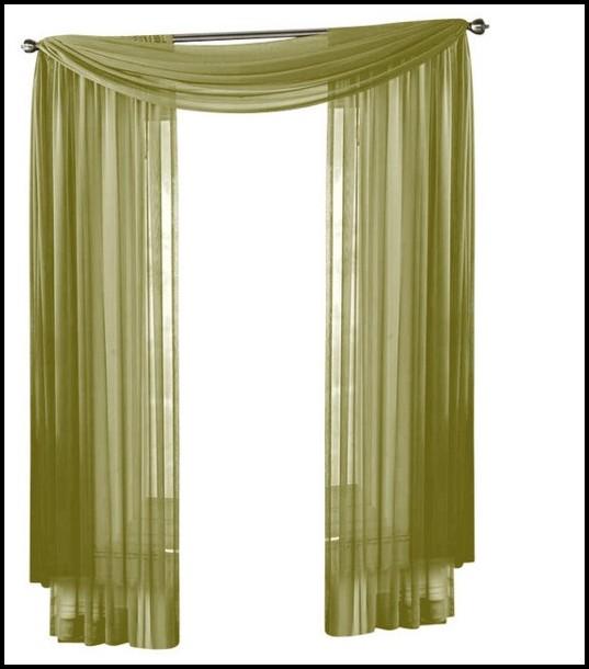 Sage Green Sheer Curtains