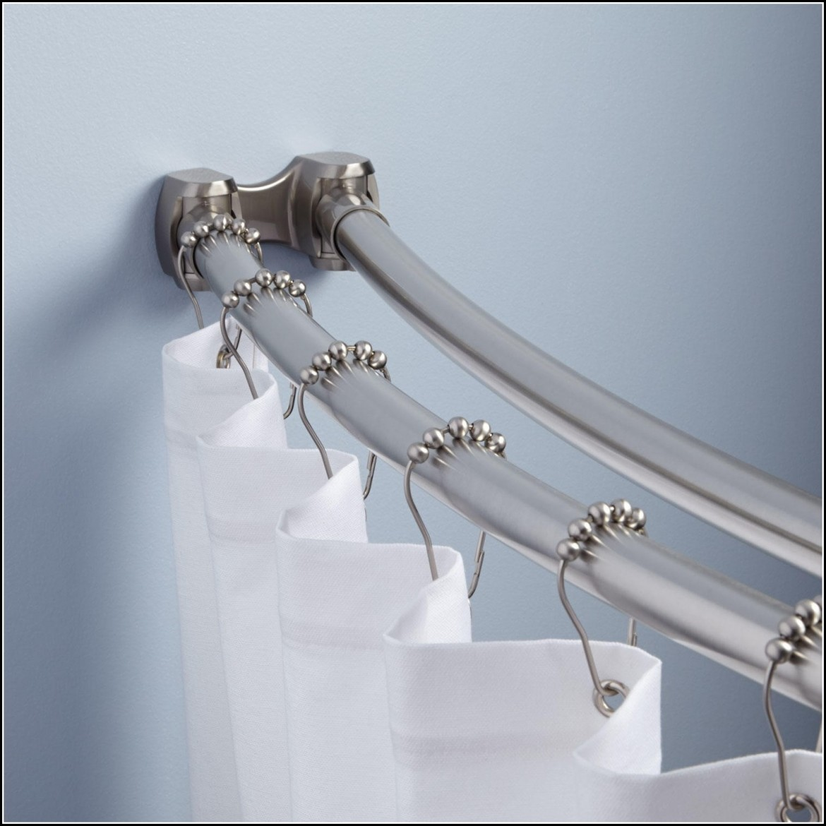 Shower Curtain Rods And Curtains