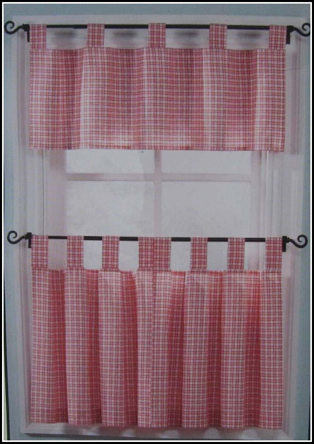 Tab Top Country Style Curtains