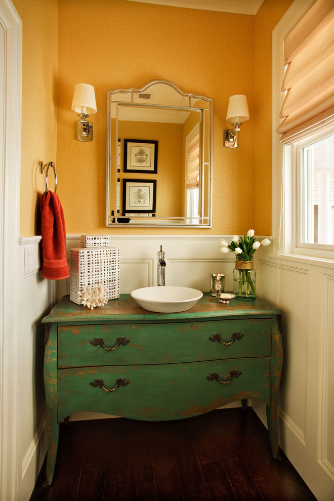 Bath Vanities for Vessel Sinks