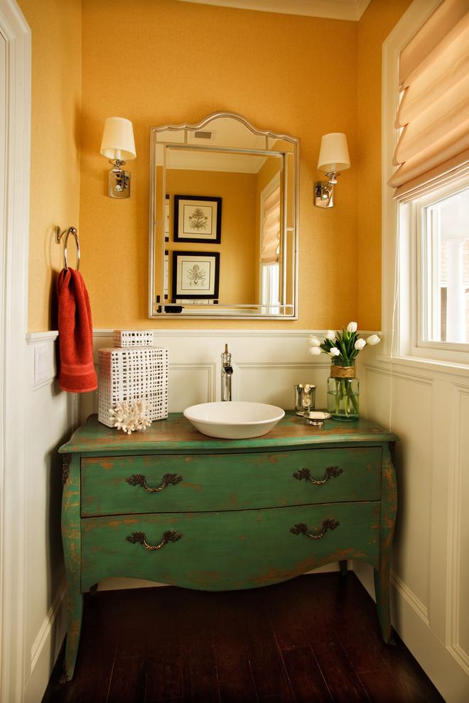 Bath Vanities for Vessel Sinks
