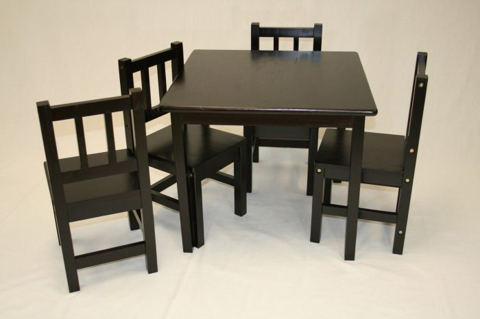 children's table and chairs 2015