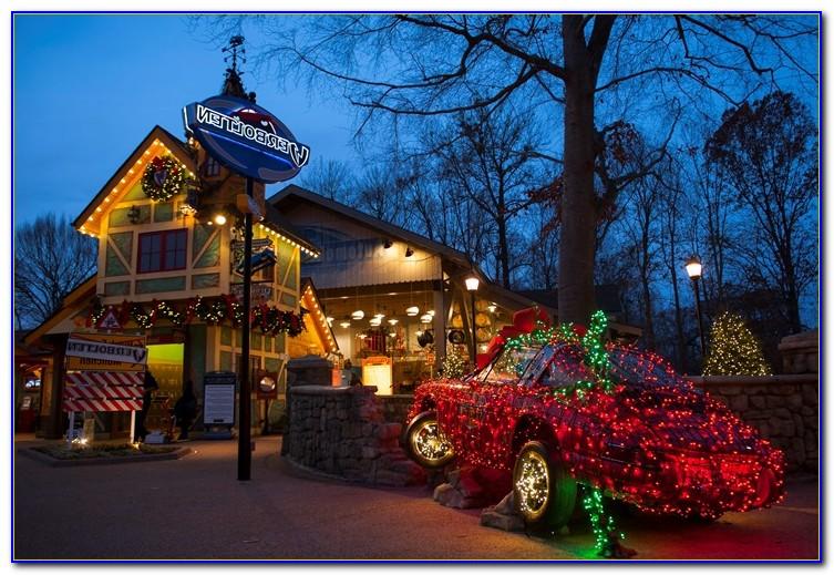 Busch Gardens Christmas Town Tampa