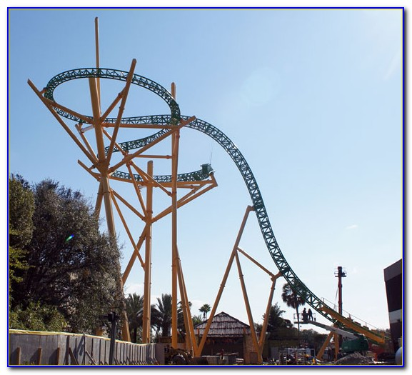 Busch Gardens New Ride Tampa