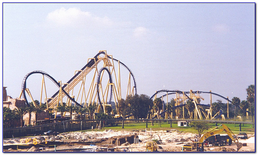Busch Gardens Roller Coasters Va