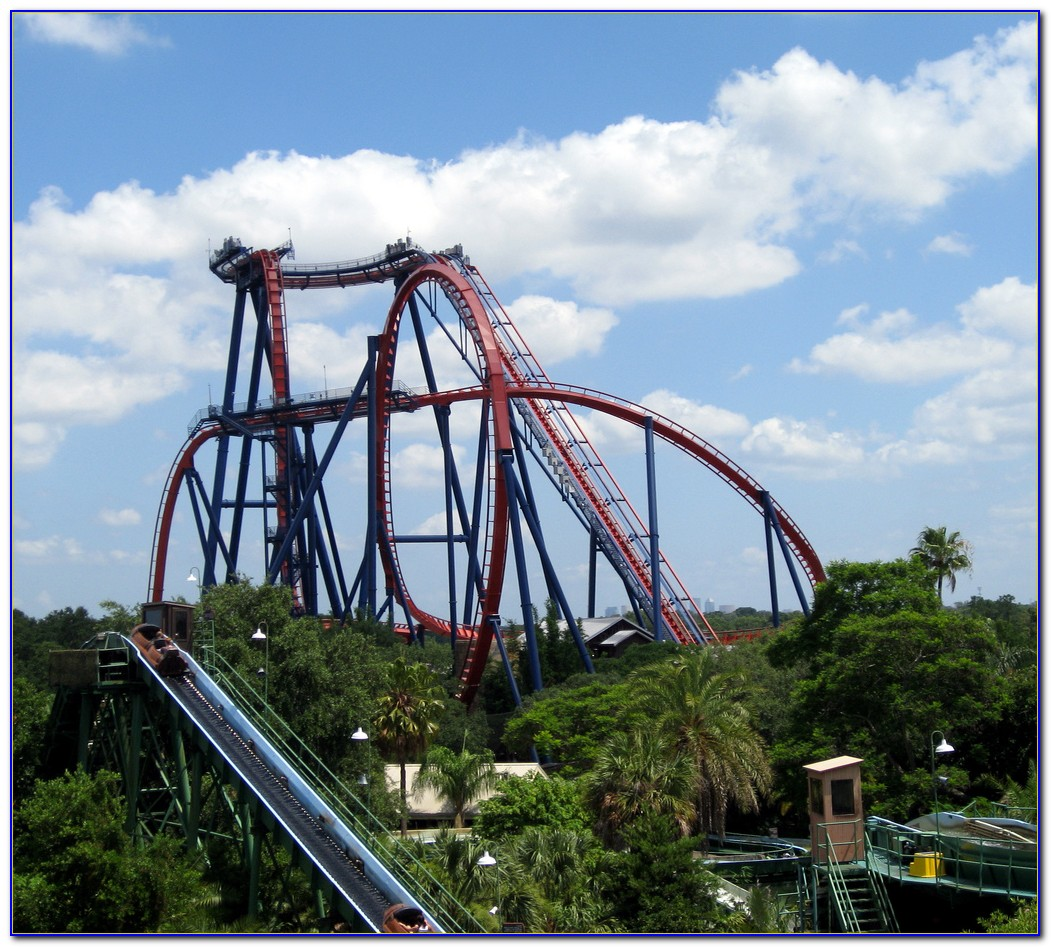 Busch Gardens Roller Coasters Virginia
