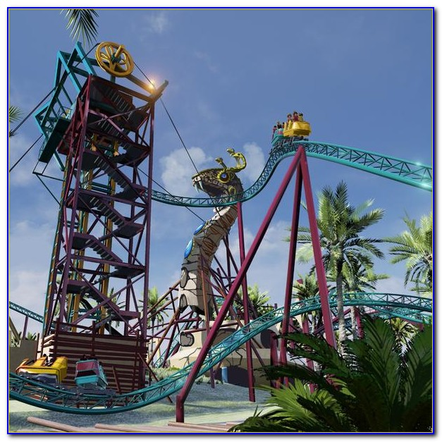 Busch Gardens Tampa Rides By Height