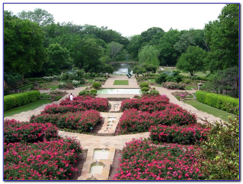 Fort Worth Botanical Gardens Pokemon Go