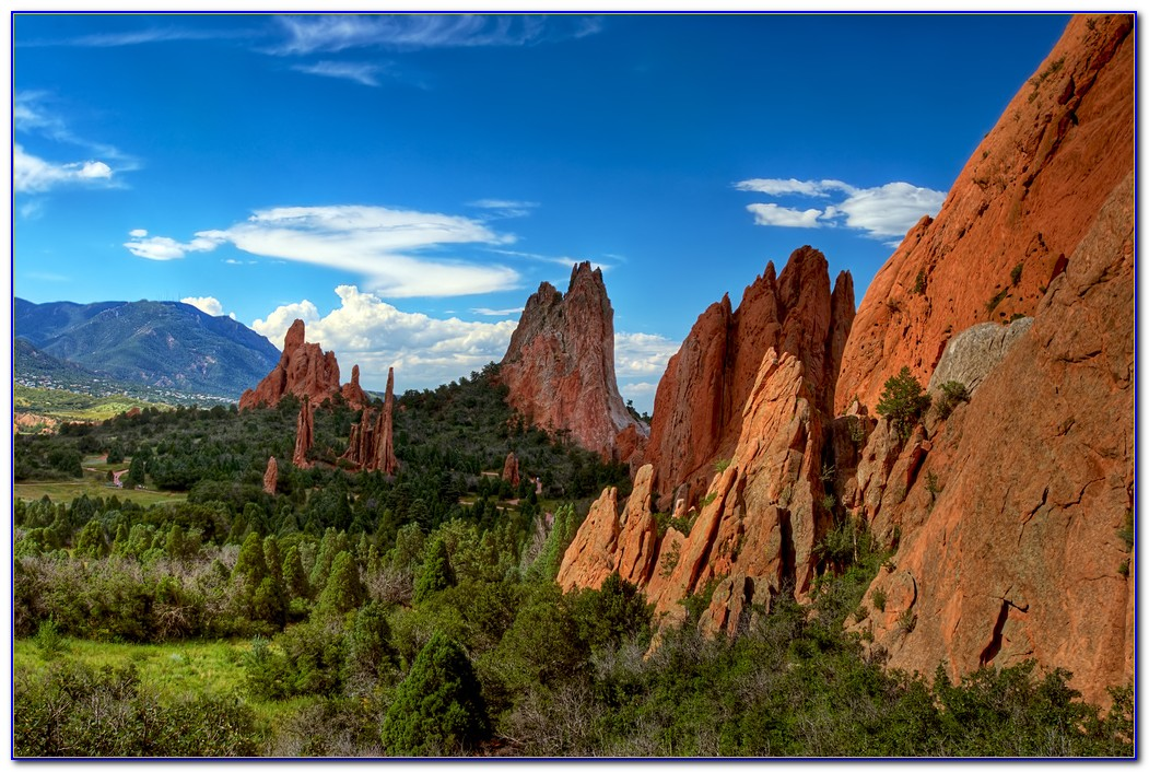 Garden Of The Gods Colorado Camping
