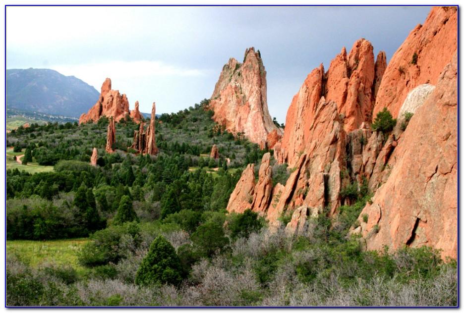 Garden Of The Gods Colorado Springs Co 80904