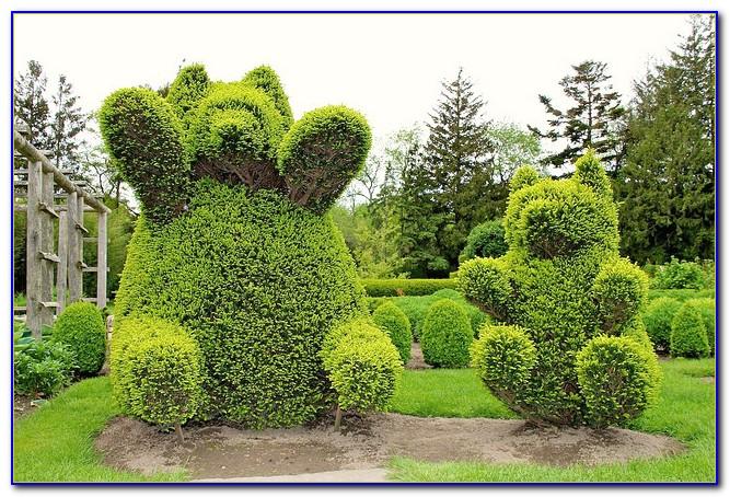 Green Animals Topiary Garden In Portsmouth