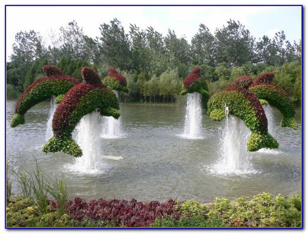 Green Animals Topiary Garden Wedding