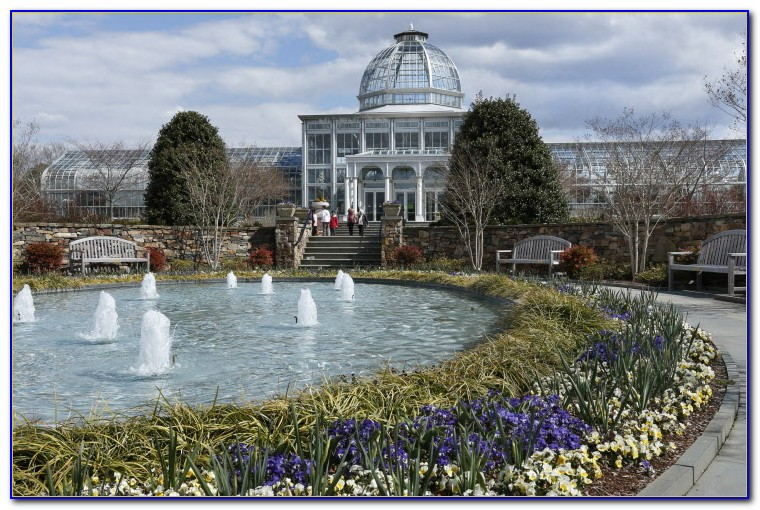 Lewis Ginter Botanical Garden Tea House