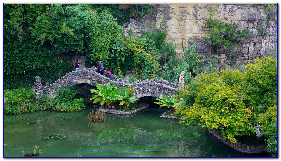 San Antonio Japanese Tea Garden History