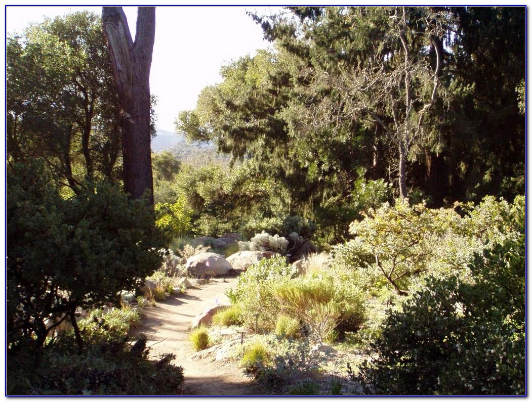 Santa Barbara Botanical Gardens Map