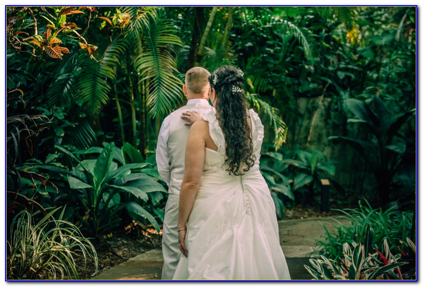 Sunken Gardens St Pete Wedding Photos