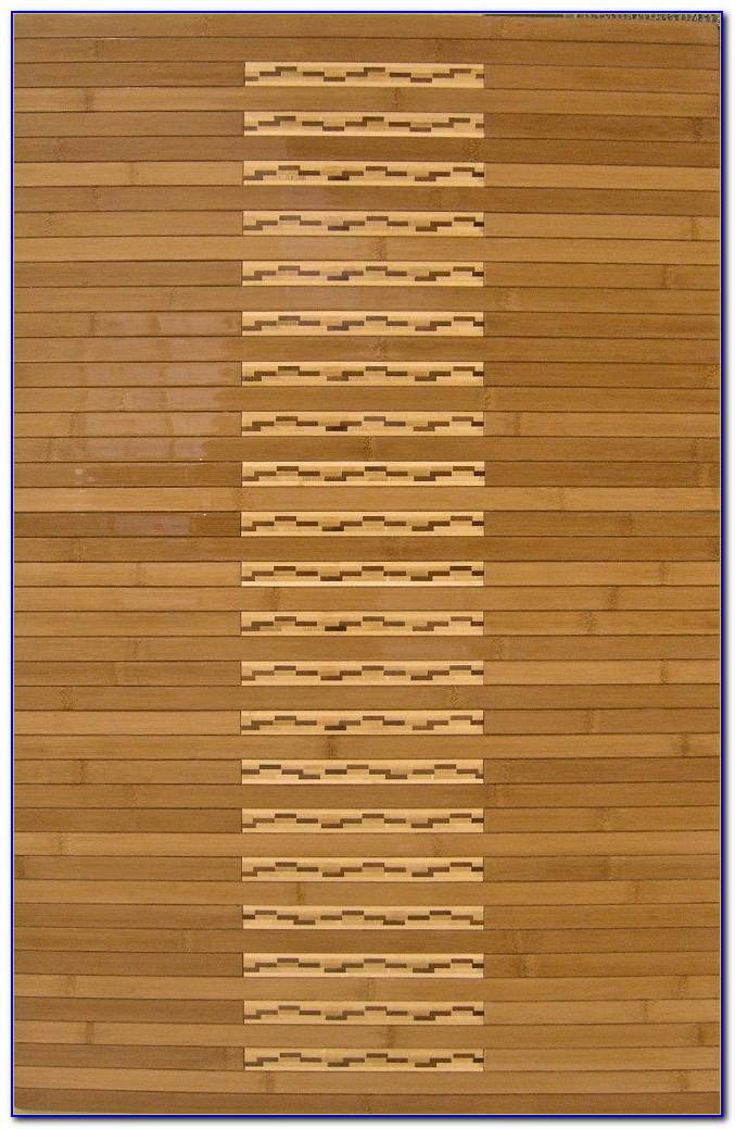 Bamboo Area Rug 4x6