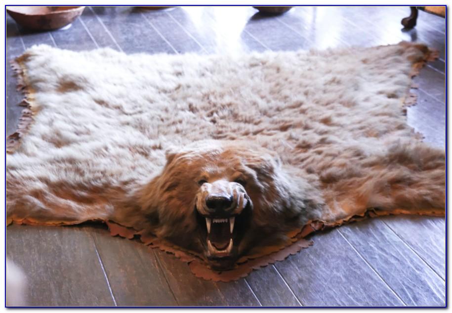 Bear Skin Rugs Alberta