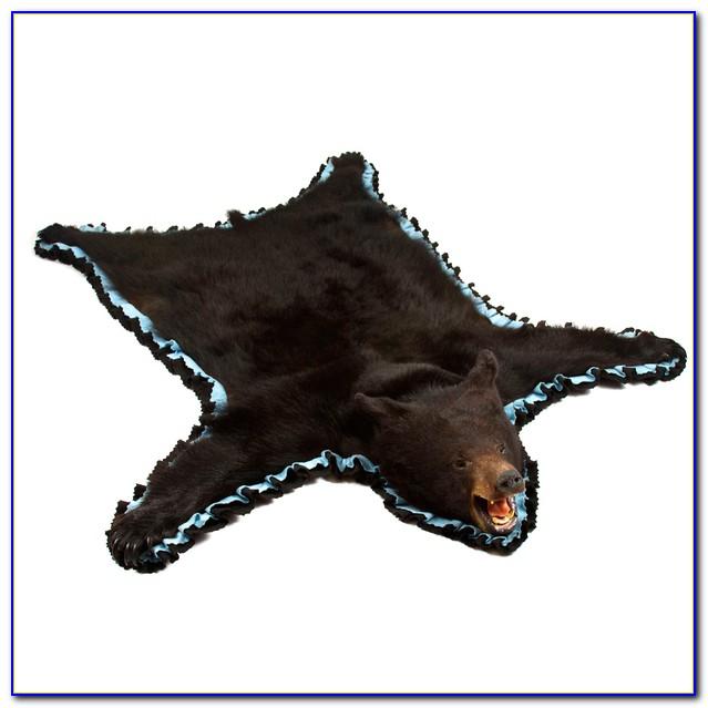 Bear Skin Rugs Australia