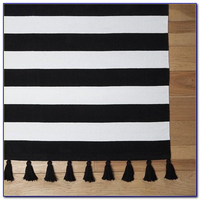 Black And White Striped Rug Amazon