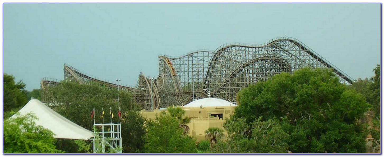 Busch Gardens New Roller Coaster 2011