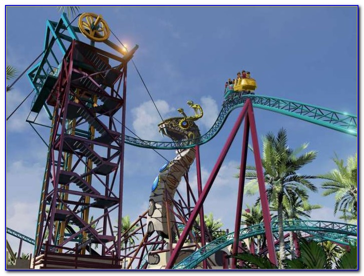 Busch Gardens New Roller Coaster Williamsburg