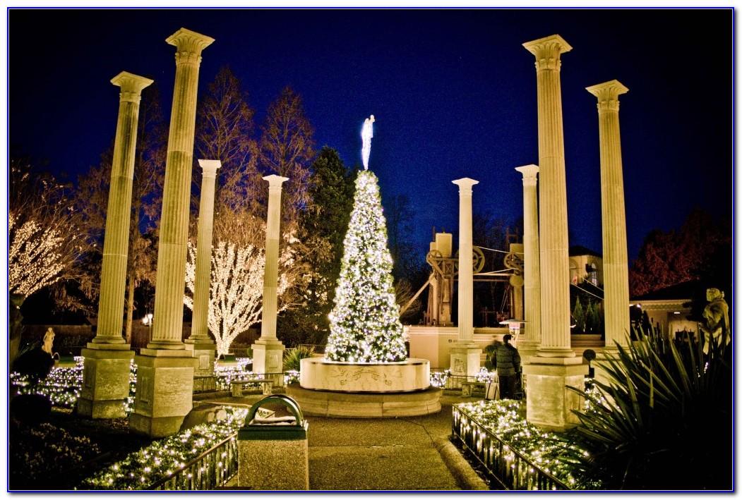 Busch Gardens Williamsburg Christmas Town Map
