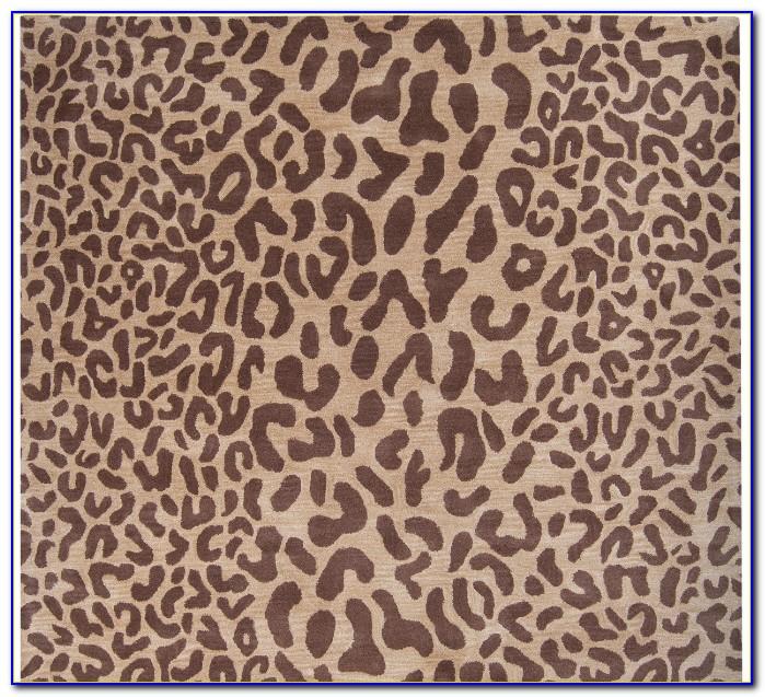 Cheetah Print Rug 5x7