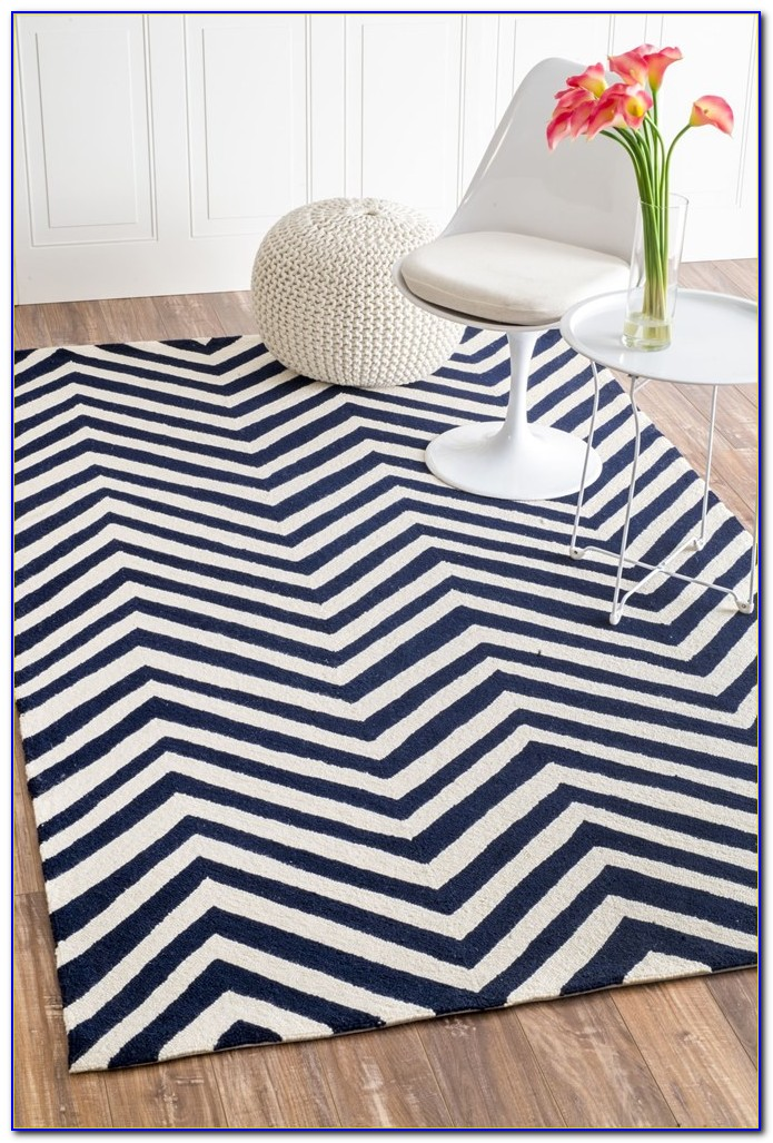 Chevron Area Rug 8 X 10
