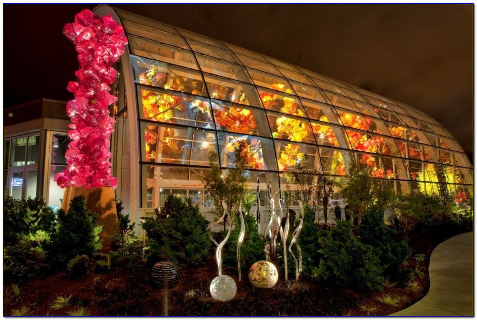Chihuly Garden And Glass Seattle Wa United States