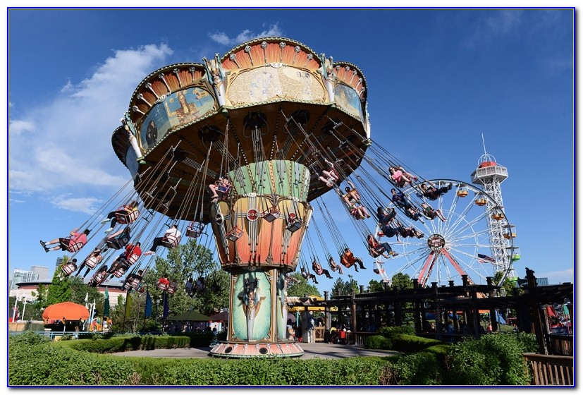 Elitch Gardens Theme Park History