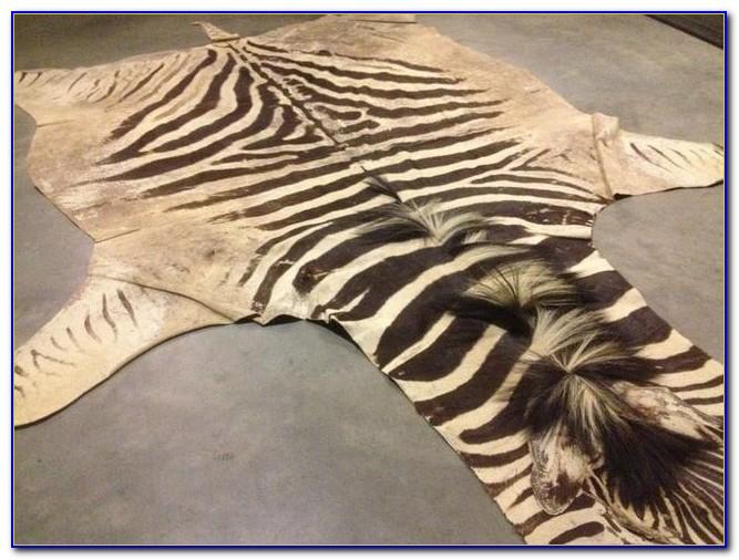 Faux Fur Animal Skin Rugs
