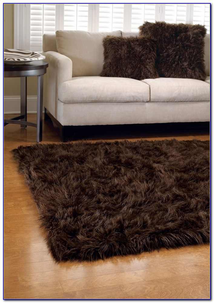 Faux Fur Rug Diy