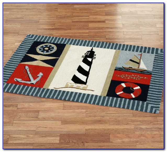 Large Nautical Area Rugs