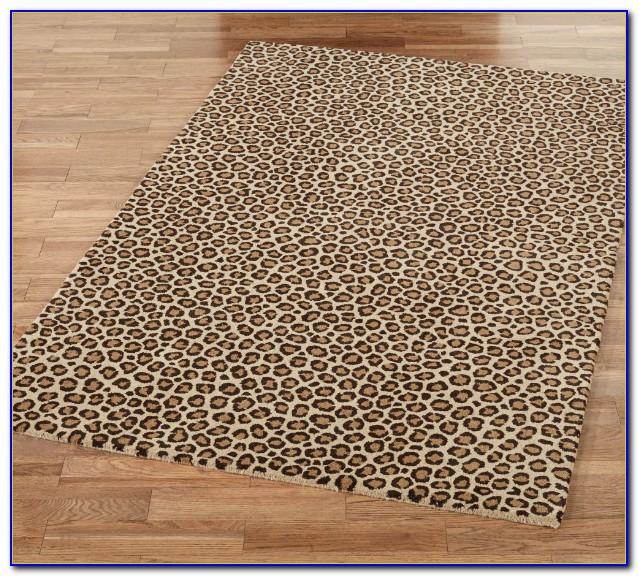 Leopard Print Rug Runner