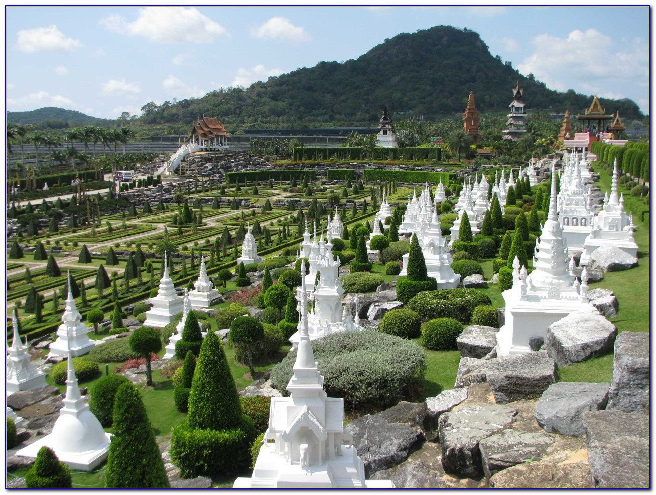 Nong Nooch Tropical Botanical Garden Map