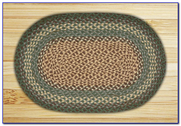 Oval Braided Rugs 9x12