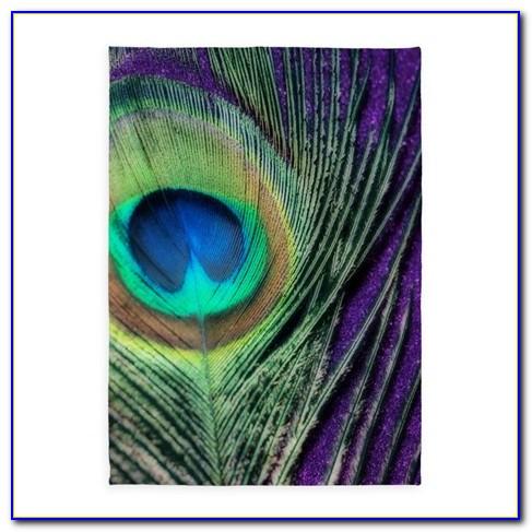Peacock Area Rug
