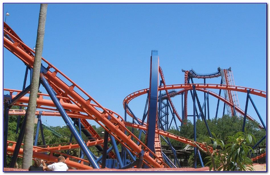 Rides At Busch Gardens Williamsburg Va