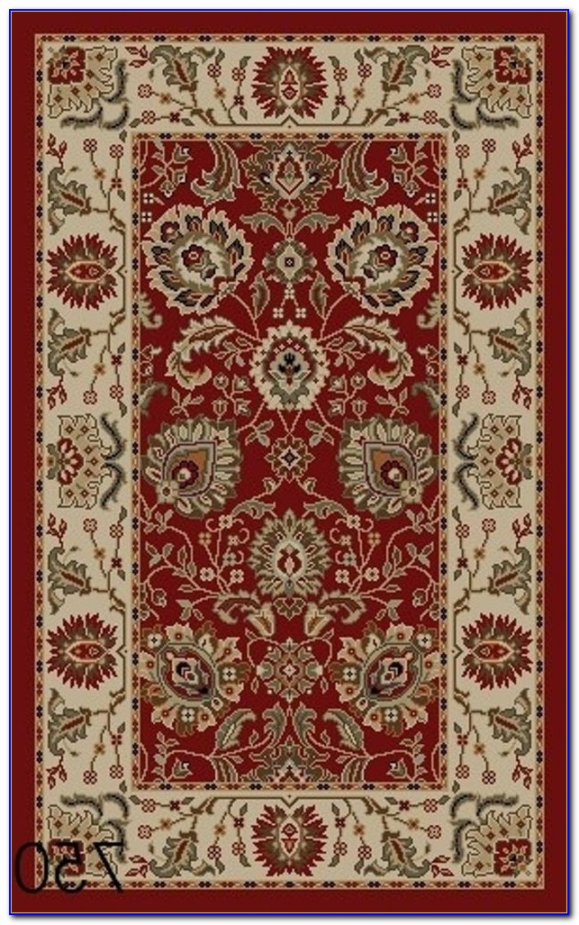 Rubber Backed Rugs 4x6