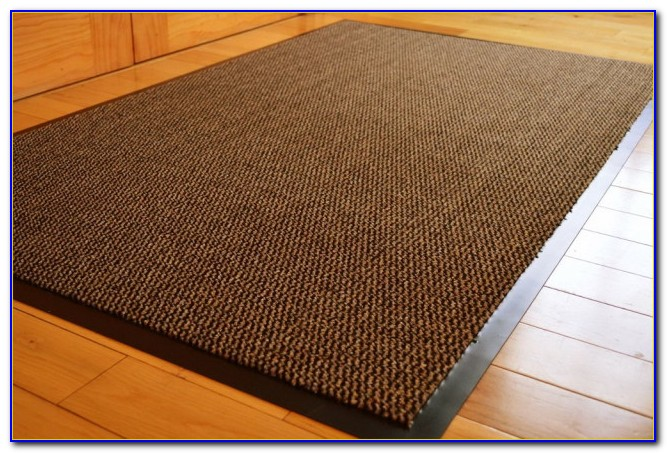 Rubber Backed Rugs On Tile