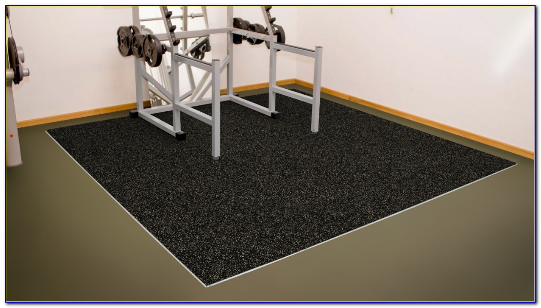 Rubber Gym Floor Tiles Brisbane