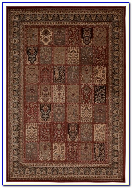 Solid Burgundy Area Rugs