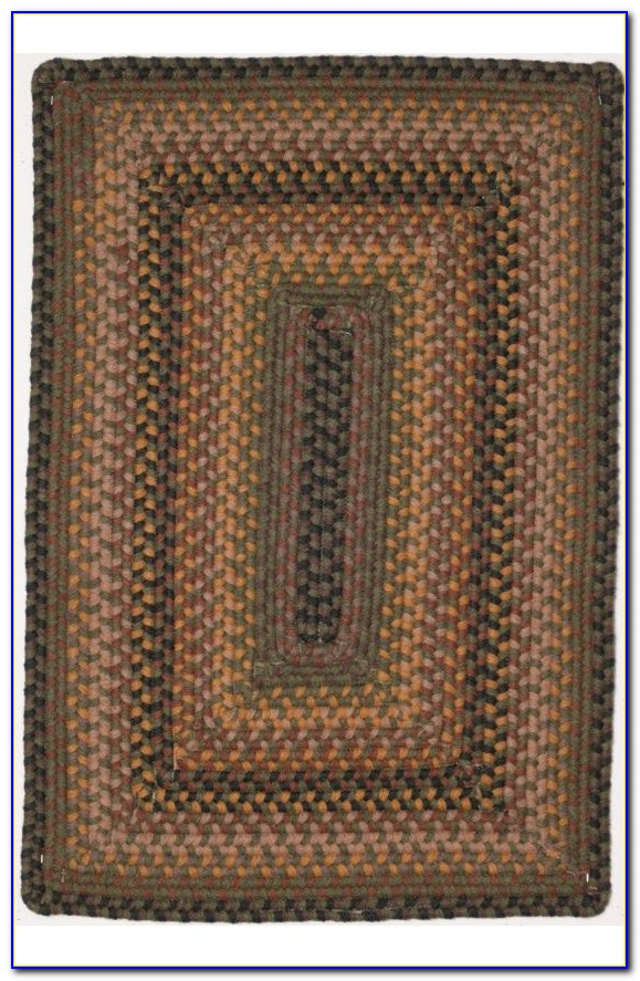 Wool Braided Rugs Rectangular