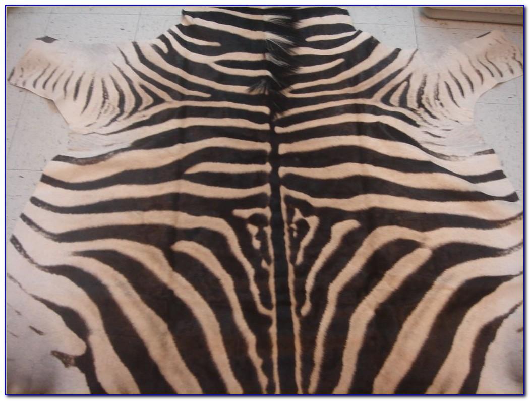 Zebra Hide Rug Ikea