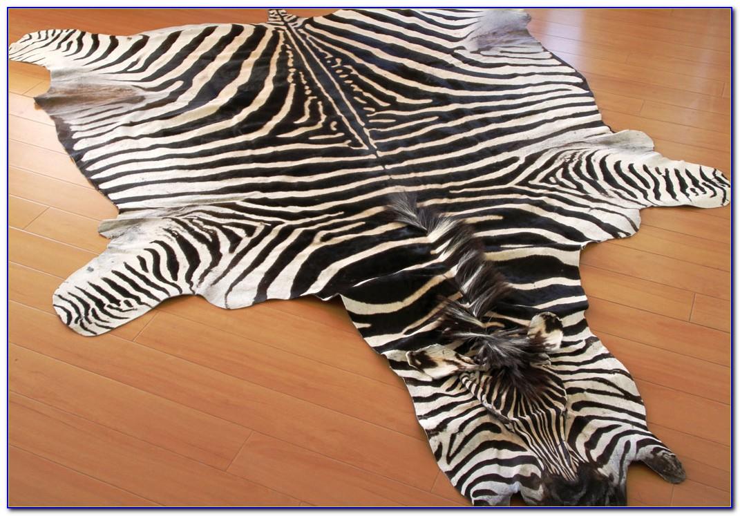 Zebra Hide Rug Toronto