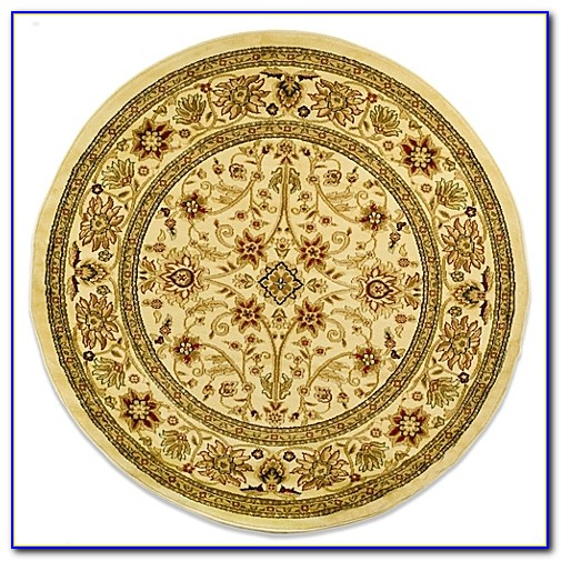 5 Foot Round Wool Rugs