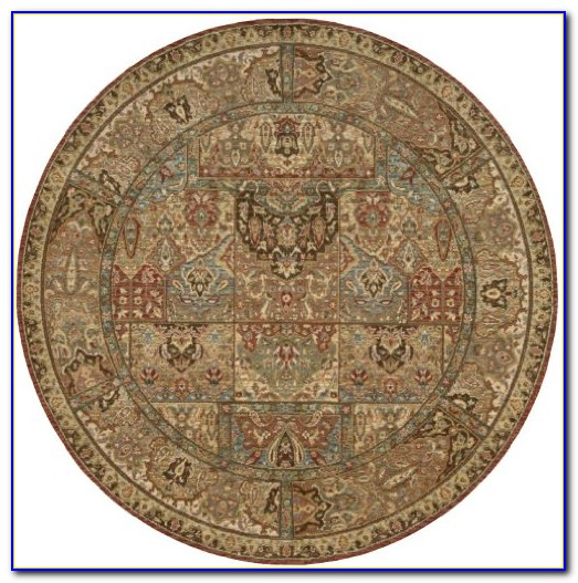 7x7 Round Area Rugs